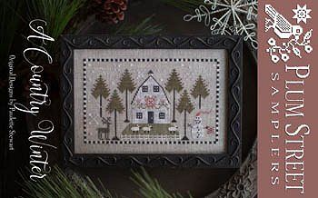 Country Winter Cross Stitch Chart