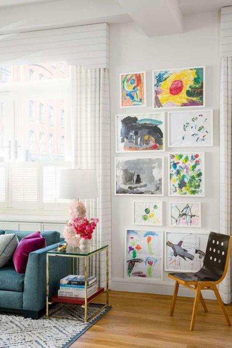 Welp 16+ Idées DIY de décorations de mur pour remplir l'espace | Salle KM-27