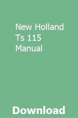 New Holland Ts 115 Manual | tighnecteher
