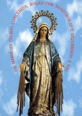 Oración De Consagración A La Milagrosa Postrado Ante Vuestro Acatamiento Oh Virgen De La Meda Imágenes Religiosas Imágenes De La Virgen Inmaculada Concepcion