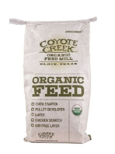 Details About Usda Certified Organic Layer Mash Chicken Feed