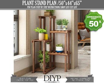 5 Tier Metal Plant Stand Flower Pot Holder Self Garden Patio Home Decor Coffee