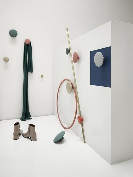 The Dots Coat Hook Garderobe Design Wandhaken Und Dots Muuto