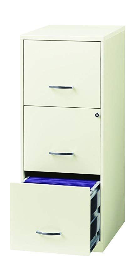 Amazon Com Space Solutions 20227 File Cabinet 18 Inch White Home Kitchen Filing Cabinet Metal Filing Cabinet Office Storage