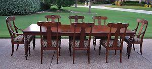 Ethan Allen British Classics Dining Table 8 Splatback Dining