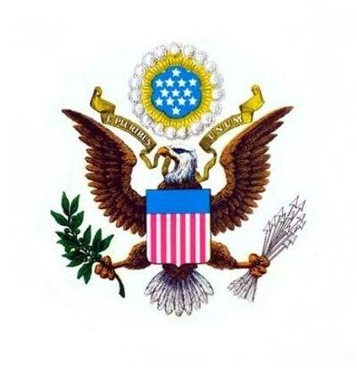 Escudo De Armas De Los Estados Unidos Christmas Ornaments Novelty Christmas Holiday Decor