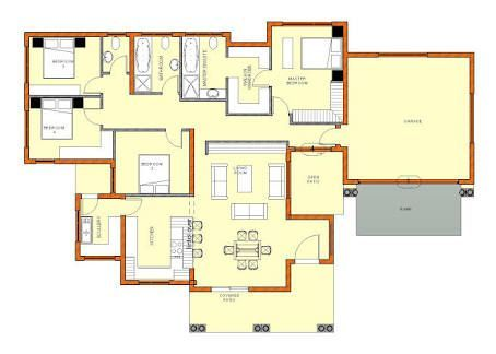 Cool House Plans Design In South Africa In 2020 House Plans South Africa Single Storey House Plans House Plans With Photos