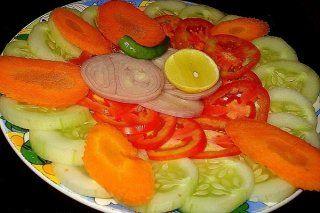Como preparar ensaladas de vegetales crudos