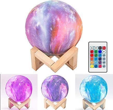 3d Sternenhimmel Mondlampe Homealexa Rgb 16 Farben Watering Globe Easter Eggs Easter