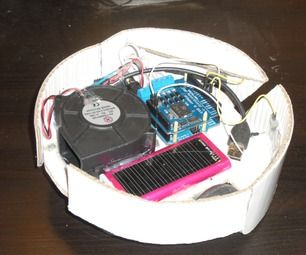 Another Cardboard Robot Vacuum Cleaner Controlled With Arduino Robot Vacuum Cleaner Cardboard Robot Vacuum Cleaner