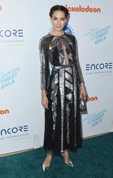 Michelle Monaghan attends the 9th Annual Thirst Gala at The Beverly Hilton Hotel.