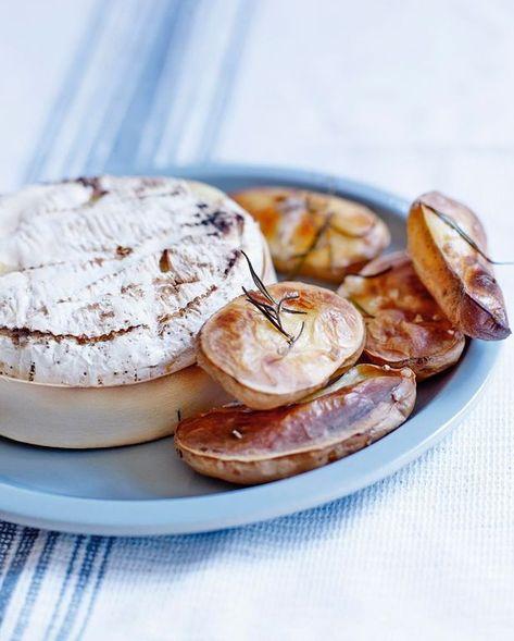 Camembert Au Four Et Pommes Soufflees Recipe With Images