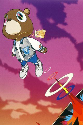 Pin By Kashif Nasir Abdul Rahim El Be On Art Kanye West Wallpaper Kanye West Graduation Iphone Wallpaper