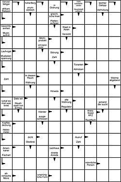 Kreuzworträtsel Gratis Ausdrucken Denken Fragen
