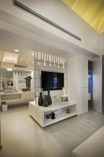 8 Ways To Improve Air Circulation Of Your Home Living Room Partition Design Room Partition Designs Living Room Partition