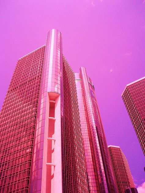 Pretty Pink ღ Skyscraper. Magenta, Couleur Fuchsia, Purple, Pink Love, Pretty In Pink, Pink And Green, Photo Wall Collage, Picture Wall, Color Rosa