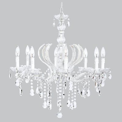 Pageant 8 Light Candle Style Chandelier