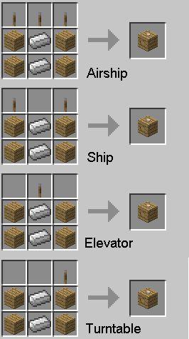 как сделать корабль в майнкрафте в версии 0.14.0