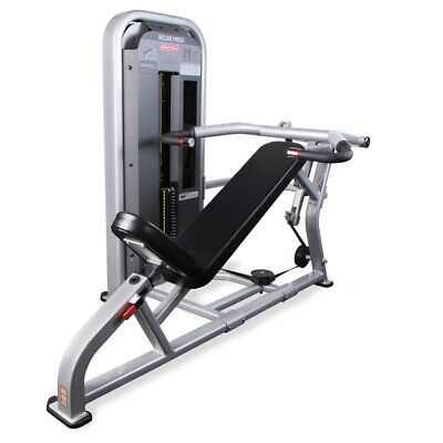 Ad Ebay Link Star Trac Impact Incline Chest Press Weight Stack Gym Fitness Machine Workout Machines Gym Workouts Hoist Fitness