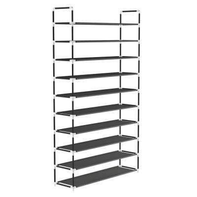 Lavish Home 50 Pair 10 Tier Shoe Storage Rack Hw0500102 In 2020