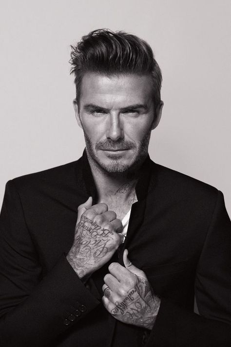 Autumn/Winter Beauty Campaign Round-Up David Beckham for Biotherm Homme