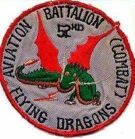 52nd Aviation Battalion Combat Flying Dragons First Aviation Brigade Vietnam War Combat Battalion