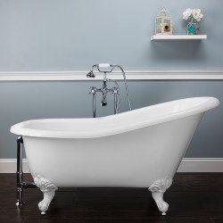 Bathtubs Idea Lowes Clawfoot Tub 54 Inch Bathtub Lowes Clawfoot