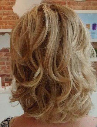 20 Stylish Low Maintenance Haircuts And Hairstyles Finehair Medium Hair Styles Mid Length Curly Hairstyles Modern Shag Haircut