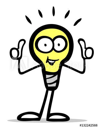 cartoon gluhbirne figur halt daumen hoch kaufen sie diese illustration und finden ahnliche illustrationen auf adobe stock vektordatei online erstellen logo vektorgrafik