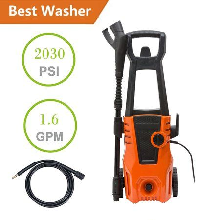 Ktaxon 2030ps Electric High Pressure Washer 1 6gpm 2000w Power Pressure Washer Water Cleaner Jet Sprayer Washing In 2020 Pressure Washer Wash Brush Pressure Washing