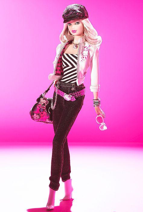 Hello Kitty Barbie Doll- So cute!