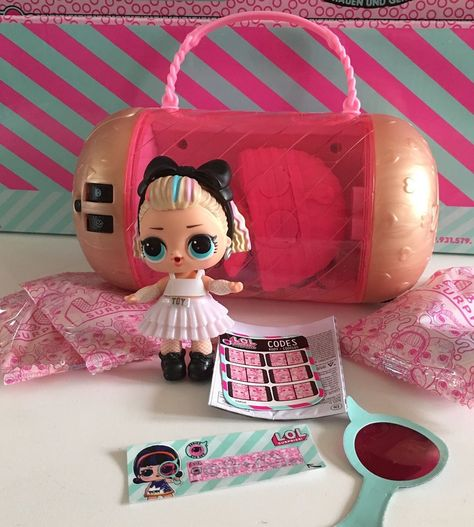 Original LOL Surprise Dolls 80S BB BABY Under Wraps Series 4 Real toy