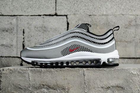 Chaussures de sport Nike Air Max 97 Ultra 17 Silver Bullet