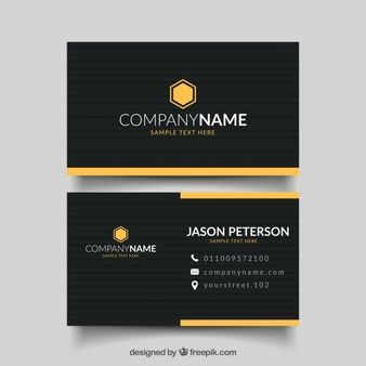 Download Black Business Card For Free In 2020 Free Business Card Templates Black Business Card Free Business Cards