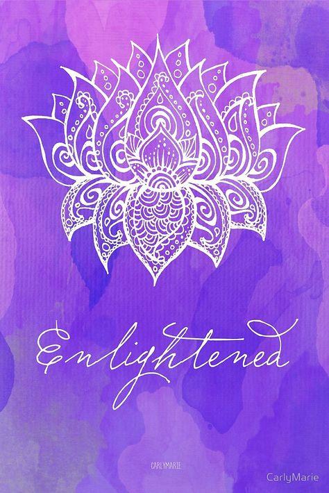«Crown Chakra - Enlightened» de CarlyMarie