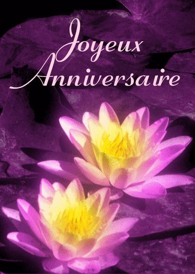 Joyeux Anniversaire Fleurs Image Awesome Carte Joyeux Anniversaire