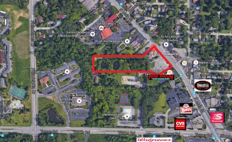 5245 5305 North Main Street Land Dayton Oh 45415 For Sale By Crest Commercial Realty 937 222 1600 Tim Albro Dayton Ohio Main Street Dayton