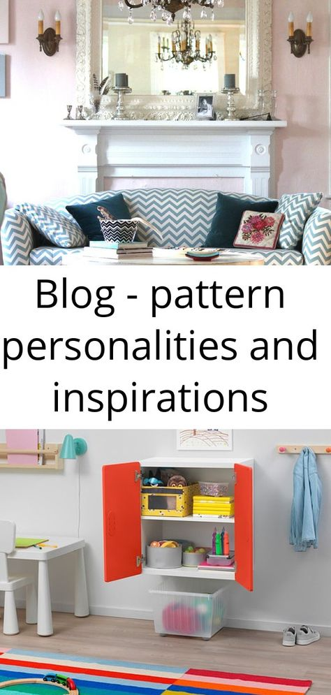 Blog - pattern personalities and inspirations