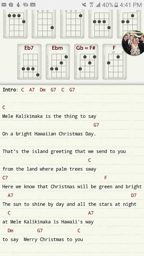 List Of Pinterest Mele Kalikimaka Ukulele Chords Images Mele