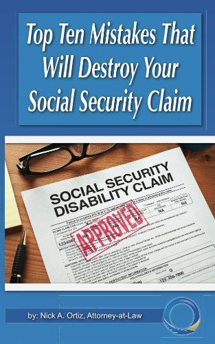 Top 10 Mistakes That Will Destroy Your Social Security Disability Claim Disability Help, Disability Awareness, Retirement Strategies, Disability Retirement, Disability Application, Caregiver Quotes, Veterans Benefits, Human Body Unit