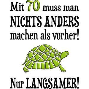 Geburtstag Shirt De Lustiger 70 Geburtstag Schildkrote Langsam Spruch Manner Premium Spruche Fur Geburtstag Spruche Zum Geburtstag Papa Geburtstag Spruche