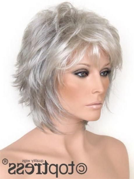 Kurzer Haarschnitt Mit Fransen Short Thin Hair Medium Hair Styles Short Hair Styles