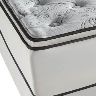 king simmons beautyrest classic shannock plush pillow top mattress by simmons soft and enveloping yet very supportive this mattress is u2026