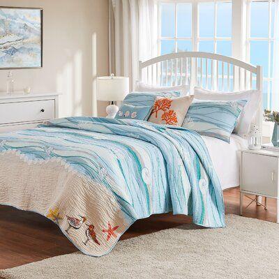 Beachcrest Home Rybicki Reversible Quilt Set Quilt Sets Home Cheap Blankets
