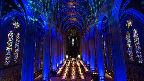 Best Video Mapping Images On Pinterest Projection Mapping - Projection mapping turns chapel into stunning work of contemporary art