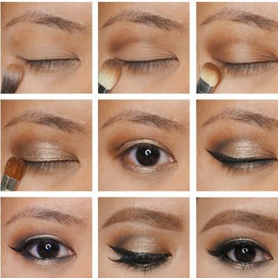 Sahara Treasure   Makeup tutorial eyeliner, Dramatic