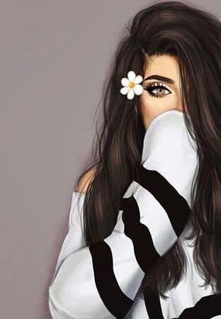 خلفيات رومانسية خلفيات تاره فارس العراق العرب ايفون كول مودل موبايل حب رقص Banat Background Love Cute Girl Drawing Girly Drawings Digital Art Girl