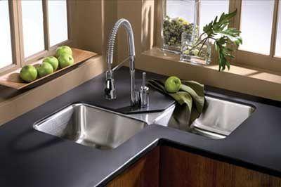 Lavello cucina angolare | coas para casa | Pinterest | Diner ideas ...