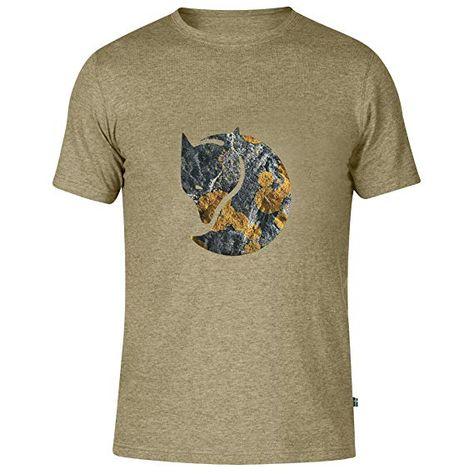 hete nieuwe producten kosten charme best Fjällräven Men's F81954 Rock Logo T-Shirt, Cork, Large ...