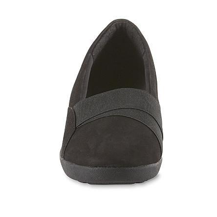 Reverie Wide Width Wedge Shoe - Black